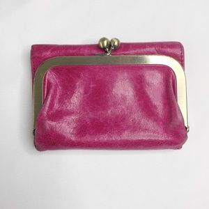 HOBO Pink Small Wallet